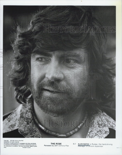 "1979 Press Photo Actor Alan Bates star in The Rose"". - Historic Images"