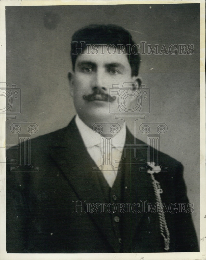 1927 Vincenzo Lombardi East Boston Murder Victim - Historic Images