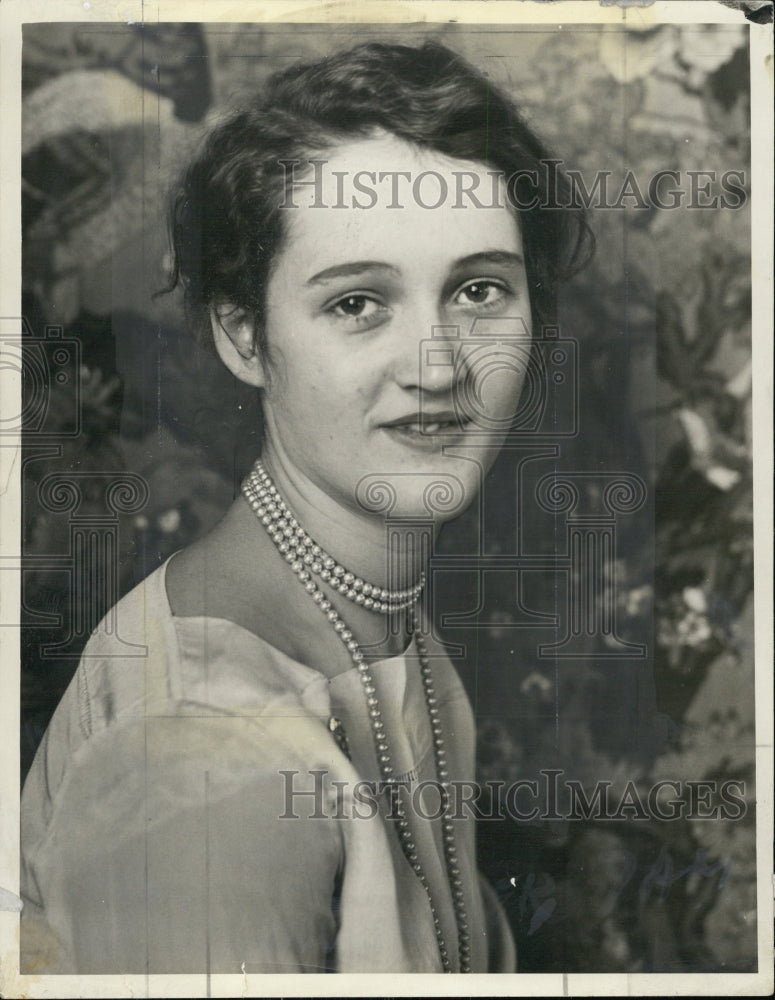 1928 Press Photo Mrs Percival Hall Lombard Nee Eugenia Frothingham - Historic Images