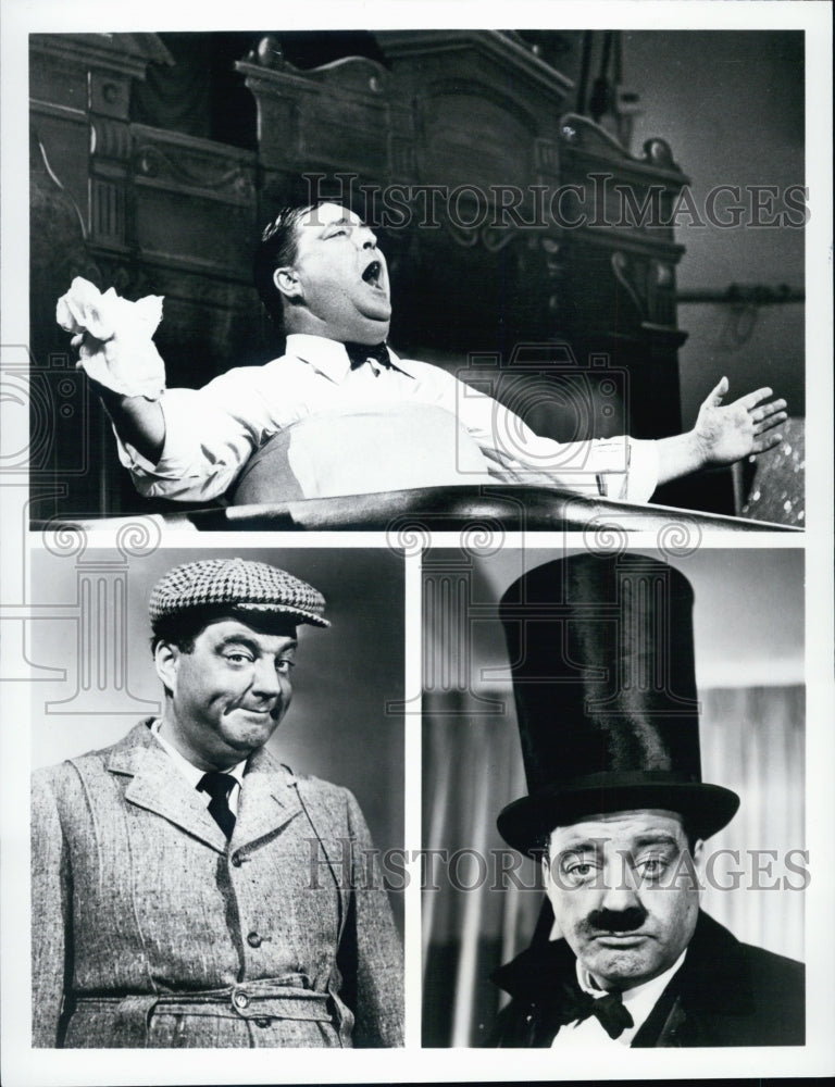 1988 Press Photo some characters of comedian Jackie Gleason - Historic Images