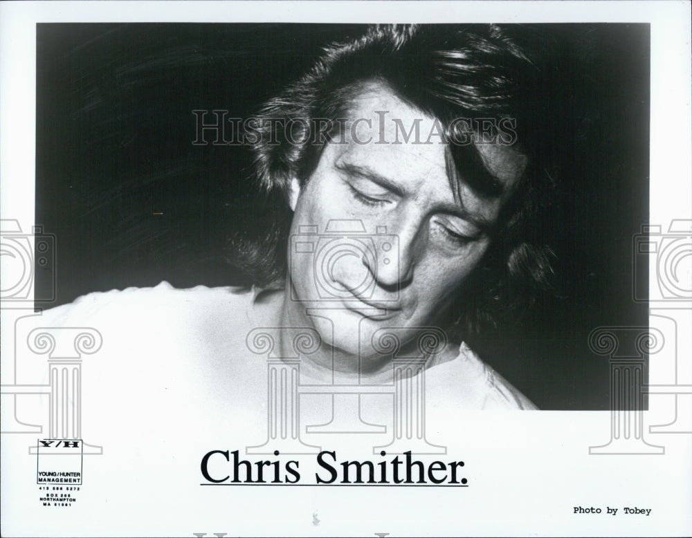 1991 Press Photo Chris Smither, head shot. - Historic Images