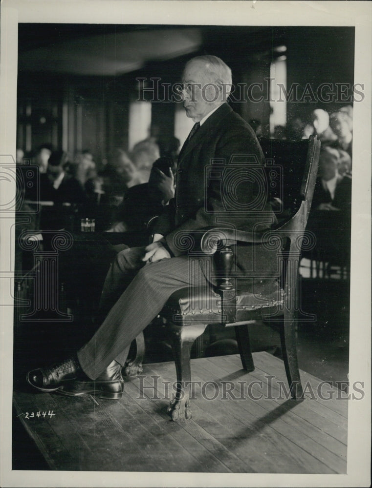 1926 Press Photo Dr. Charles Eliot President of Harvard - Historic Images