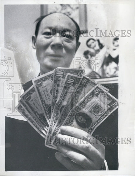 1969 Press Photo Reverend Dr. Peter Y.F. Shih, Chinese Christian Church - Historic Images