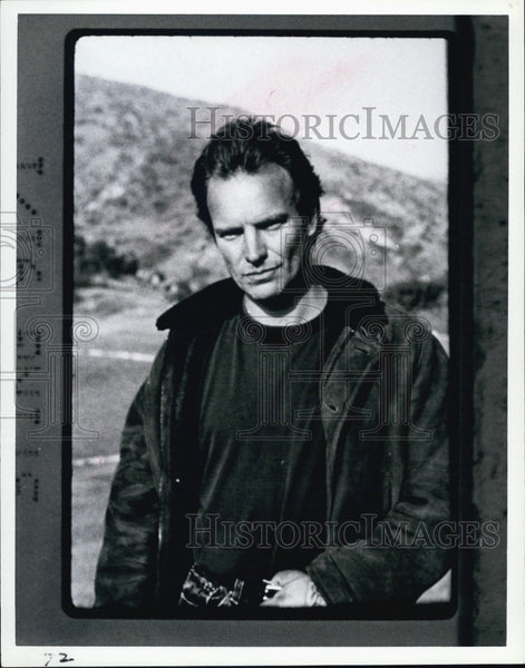 Press Photo STING - Historic Images