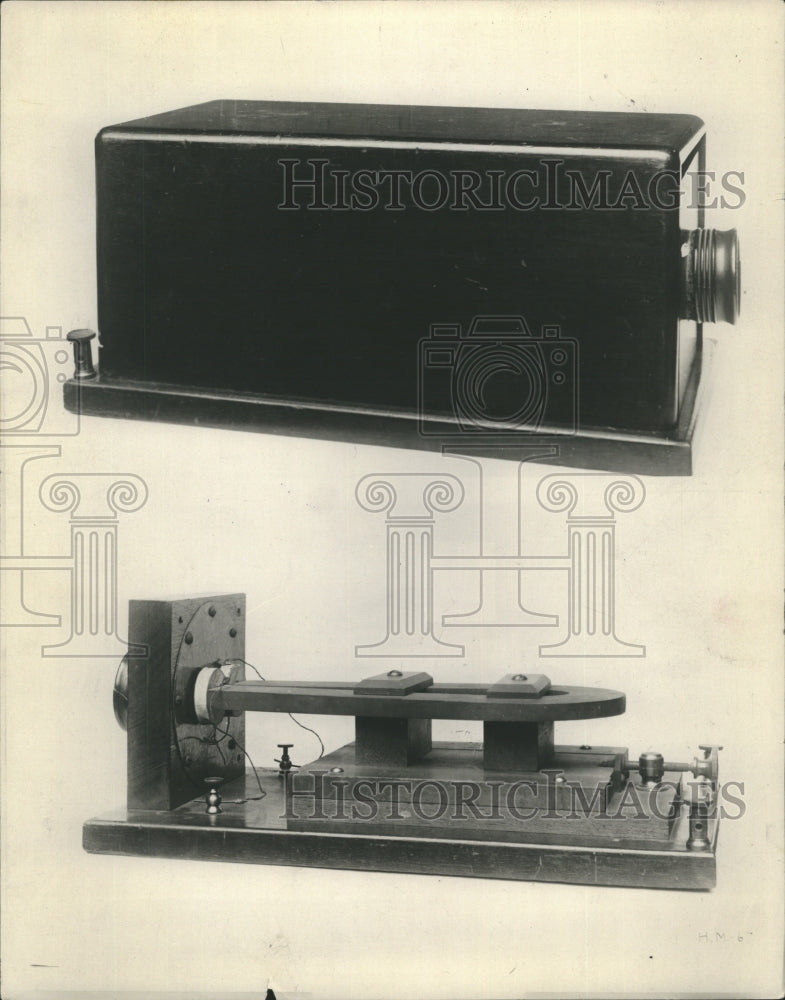 1930 Press Photo Iirset Teleohone - Historic Images