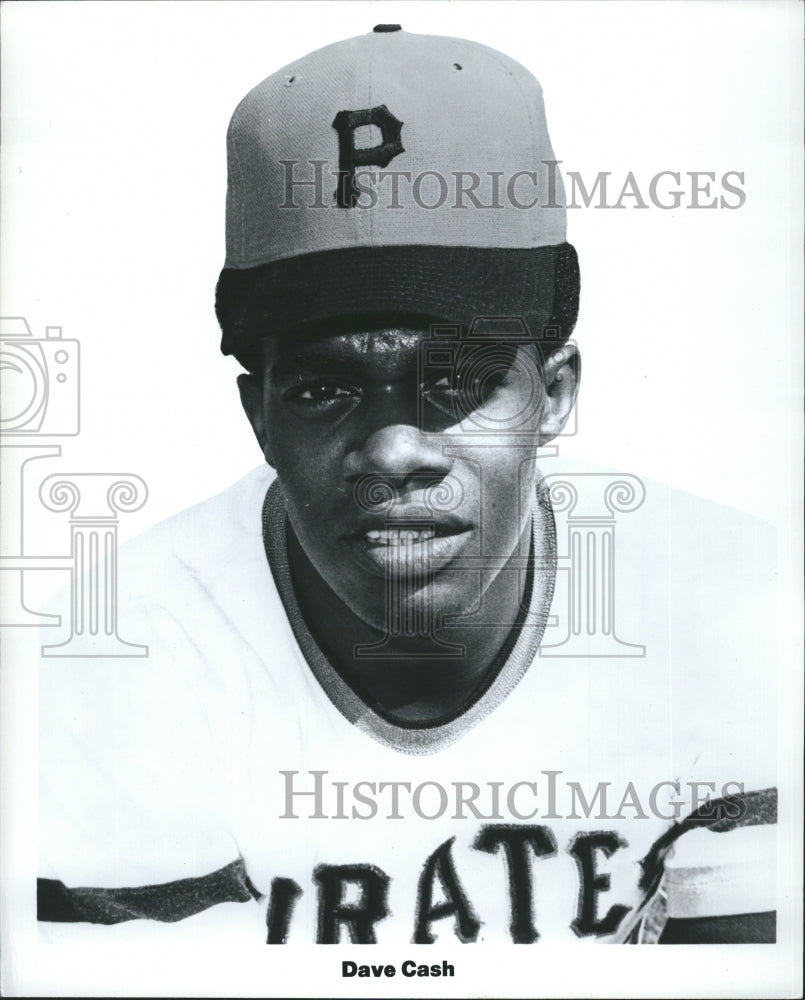 1971 Press Photo COPY Pittsburg Pirates Dave Cash Second Baseman In Stance - Historic Images