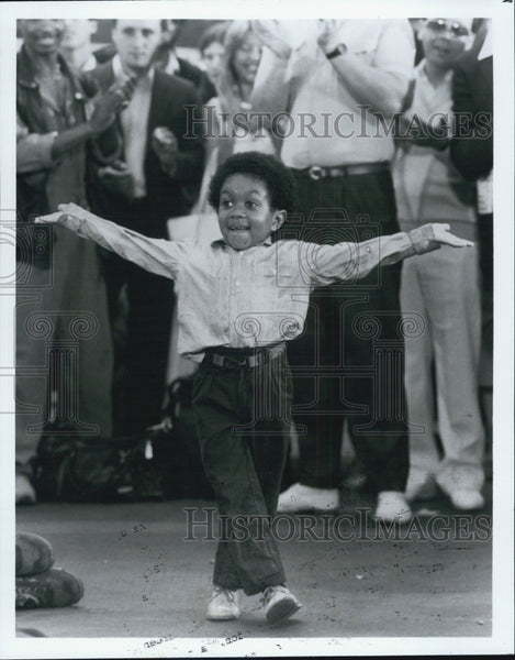 Press Photo Emmanuel Lewis Child Television Film Actor - Historic Images
