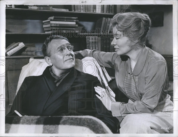 1960 Ralph Bellaway and Greer Garson in Sunrise at Campobello - Historic Images