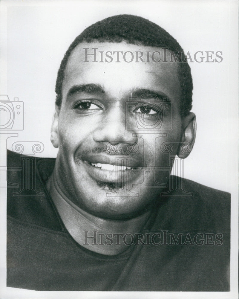 1970 Press Photo Roy Jefferson, American football wide receiver. - Historic Images