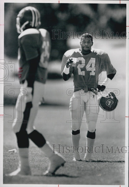 1989 Press Photo Wymon Henderson And Darren Carrington - Historic Images