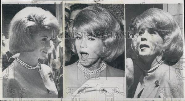 1965 Press Photo celebrity woman. - Historic Images