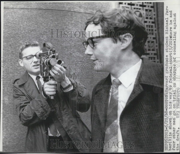 1968 Press Photo Micheal Ferber. - Historic Images