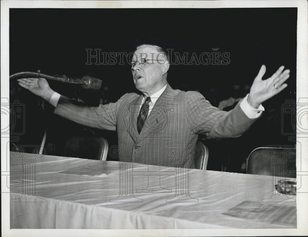 1944 Press Photo William Green of the American Federation of Labor - Historic Images