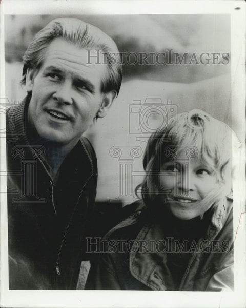 Press Photo American Actor Nick Nolte. - Historic Images