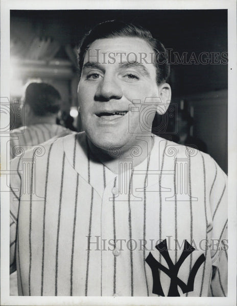 1948 Press Photo Actor William Bendix as Babe Ruth - Historic Images