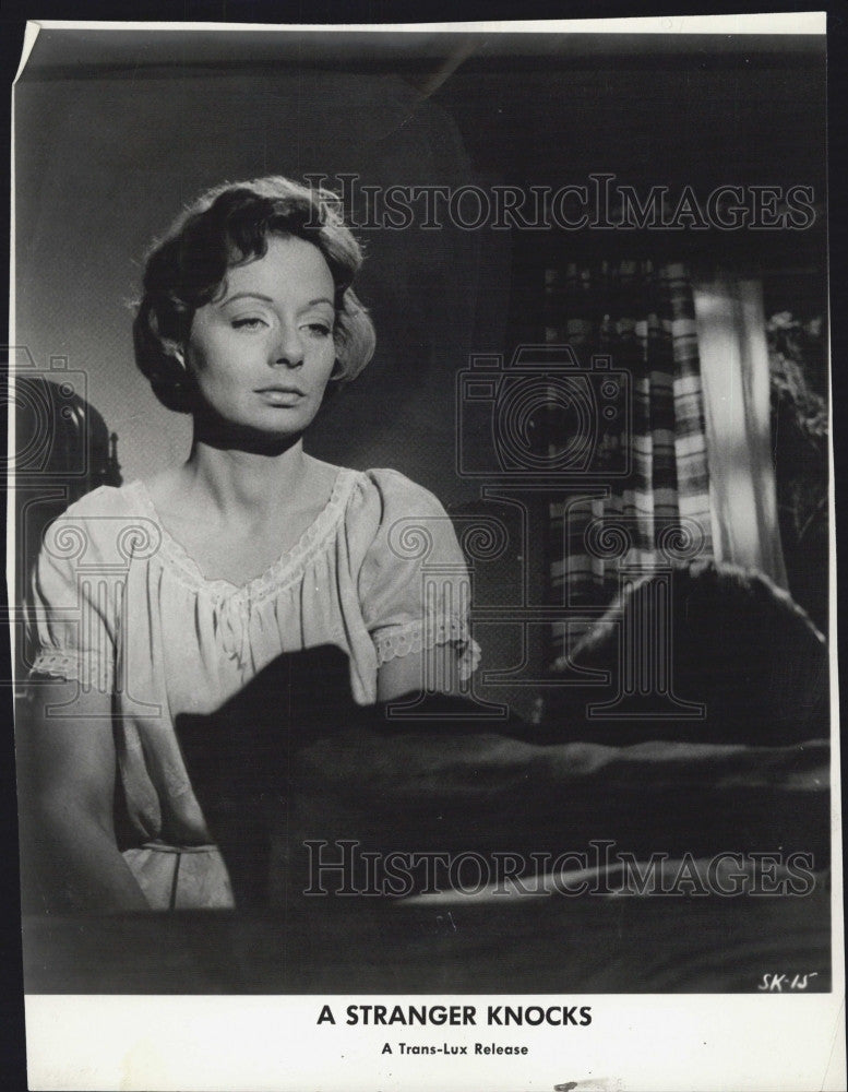 Brigitte Spiel 1964 press photo brigitte feder spiel in a knocks