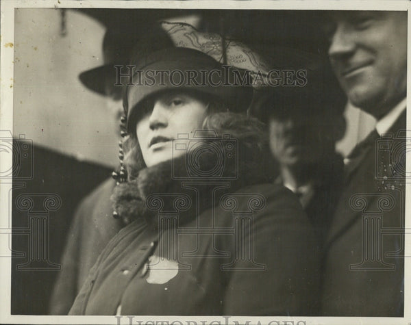 1922 Press Photo Mrs Myrtle O Hogan in Chinese Murder Boston American - Historic Images