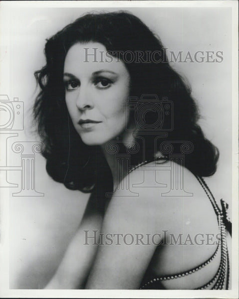 Press Photo Actress, Jane Alexander for a film - Historic Images