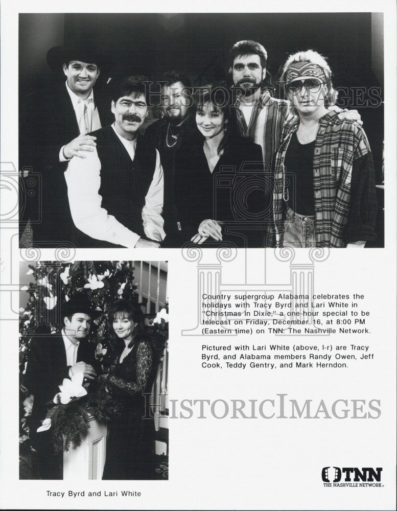 Alabama Christmas In Dixie.Press Photo Country Music S Alabama Lari White Tracy Byrd In Christmas In Dixie