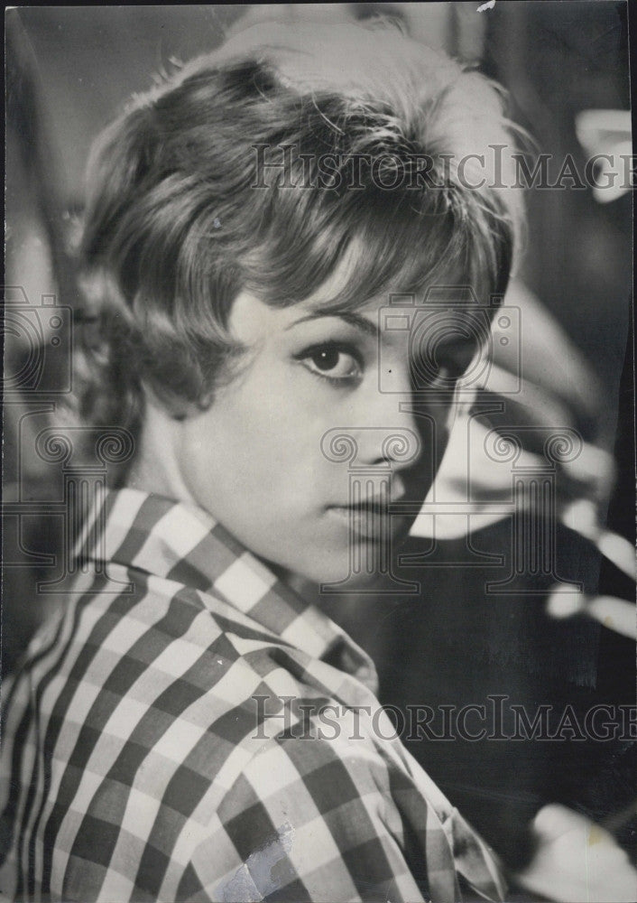 "1962 Press Photo Actress, Jeanne Valerie  ""Les Liasions Dangereuse"" - Historic Images"