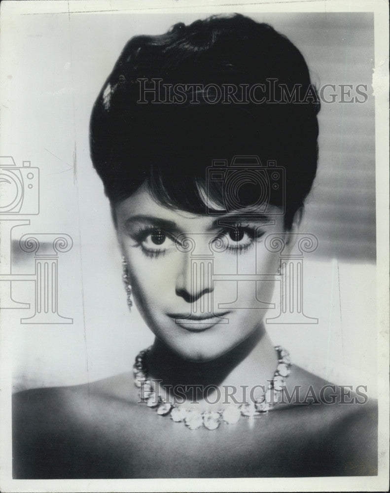 1965 Press Photo Italian Singer Anna Maria Alberghetti - Historic Images