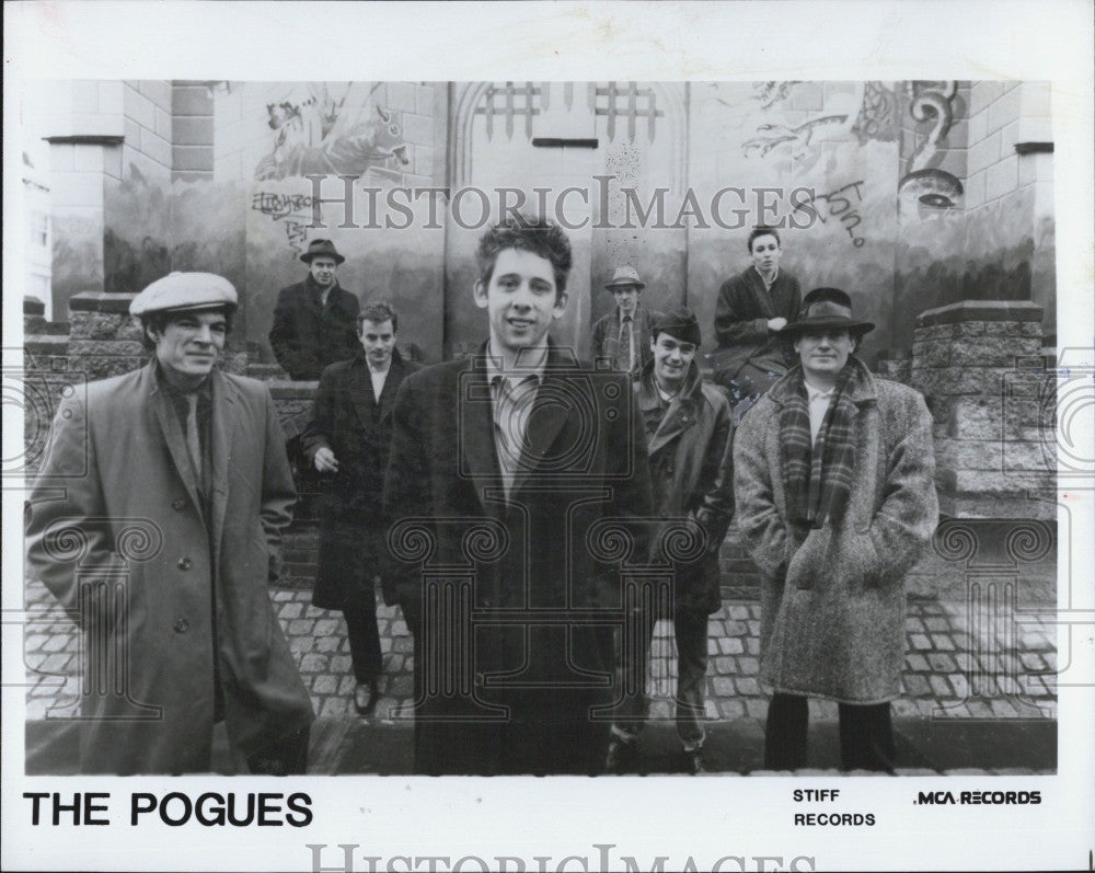 Press Photo The Pogues - Historic Images