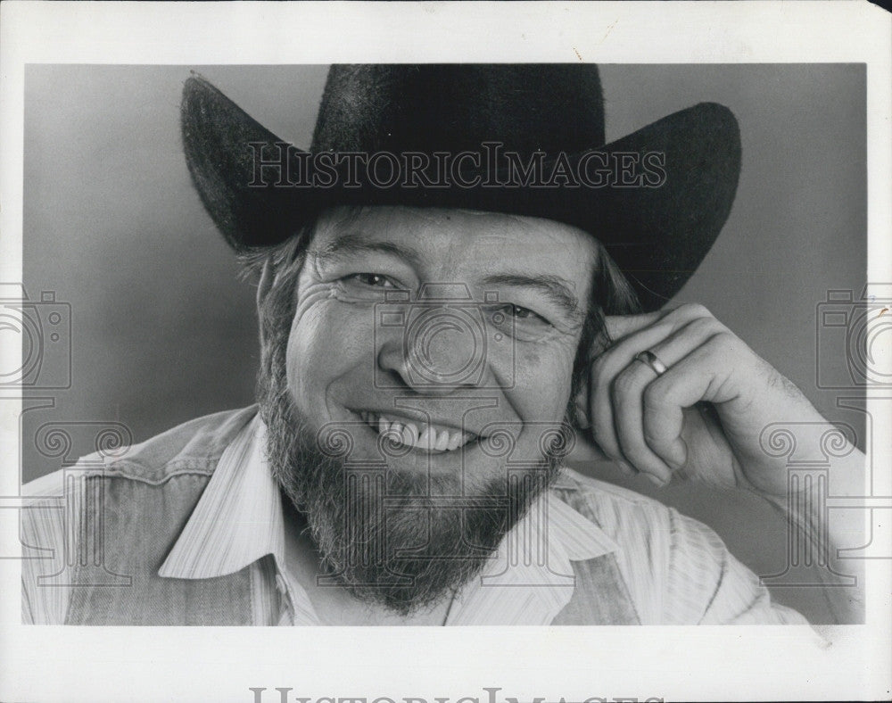 "1979 Press Photo Larry King Playwright ""The Best Little Whorehouse in Texas"" - Historic Images"