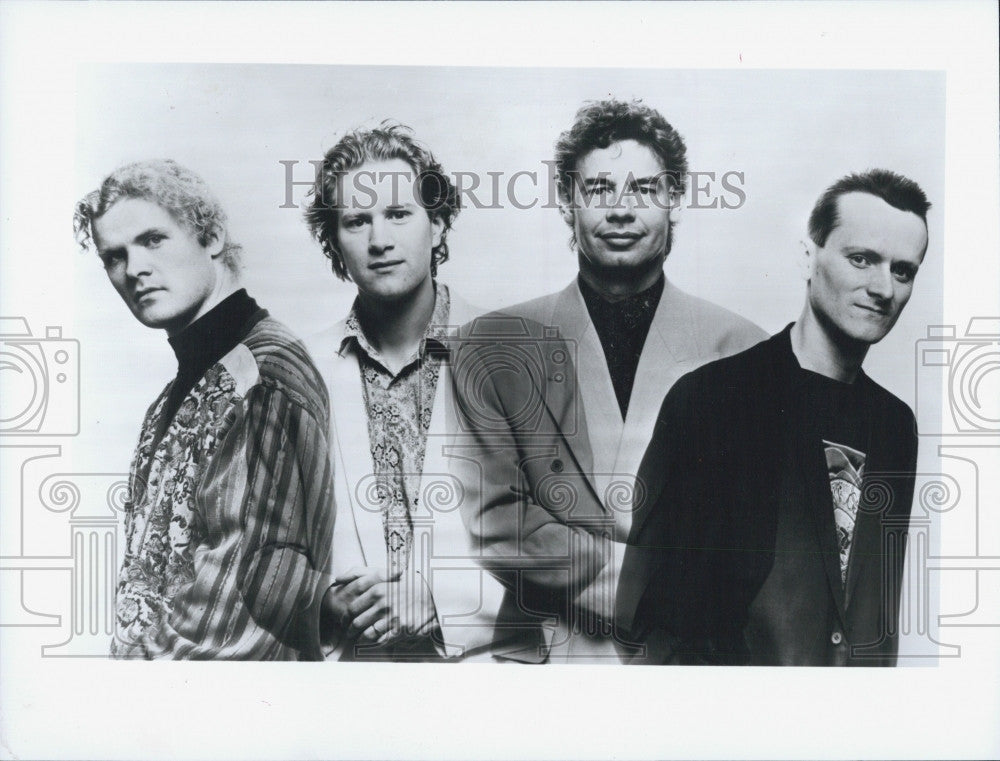 1992 Press Photo Bill Bruford Eartworks group. - Historic Images