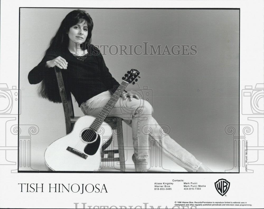 1996 Press Photo Musician Tish Hinojosa to perform - Historic Images