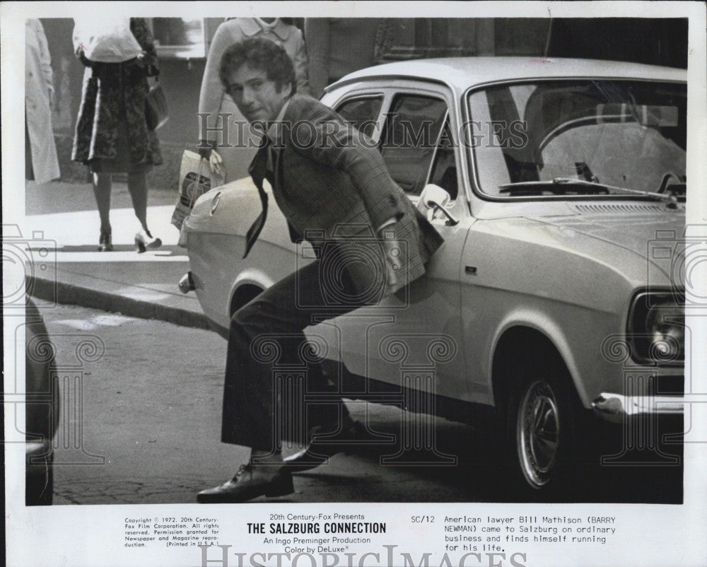 "1972 Press Photo Barry Newman Actor In ""The Salisbury Connection"" Film - Historic Images"