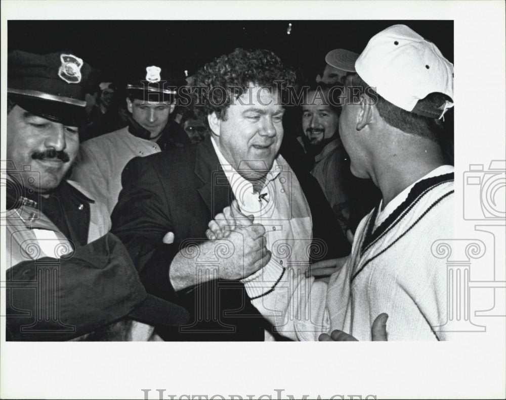 Press Photo Cheers Actor George Wendt - Historic Images