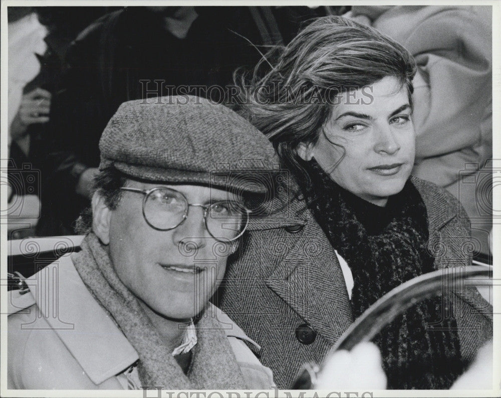 1990 Press Photo Actors Ted Danson & Kirstie Alley - Historic Images