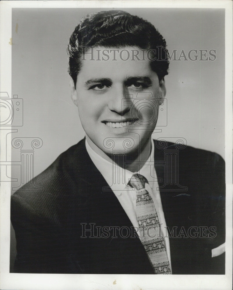 1960 Press Photo Louis Sgarro Of Metropolitan Opera - Historic Images