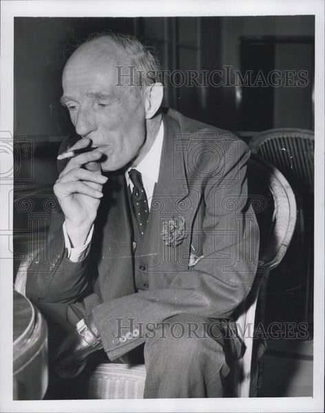 1951 Press Photo Lord Halifax, British Ambassador to U.S. from 1941 to 1946 - Historic Images