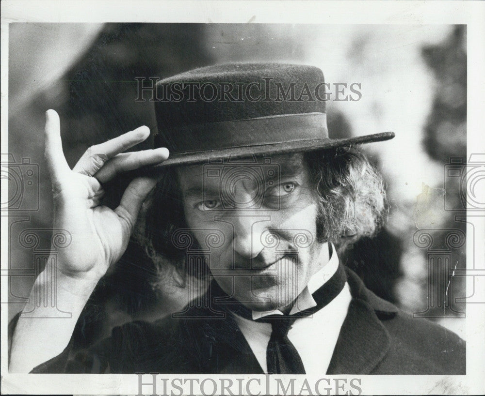 "1972 Press Photo Marty Felman in ""The Marty Feldman Comedy Machine"" - Historic Images"