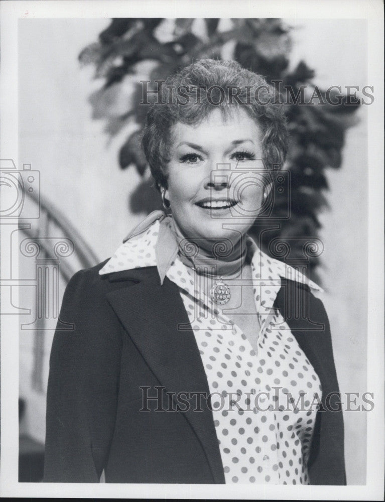 "1979 Press Photo Gale Storm stars in NBC's ""The Love Boat"" - Historic Images"