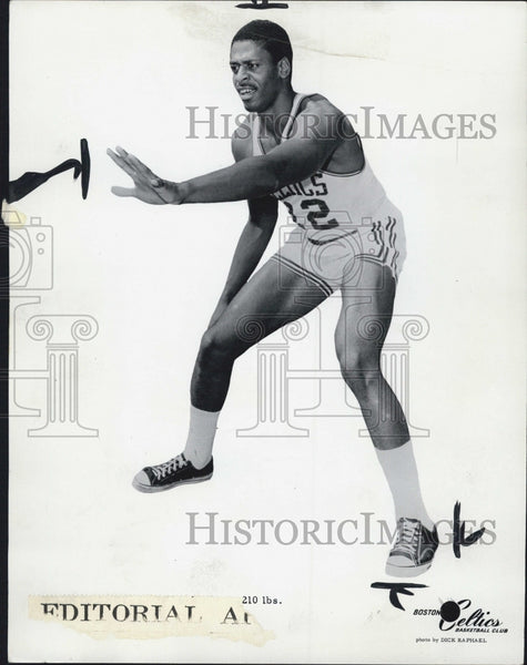 1970 Press Photo Boston Celtic, Don Chaney - Historic Images