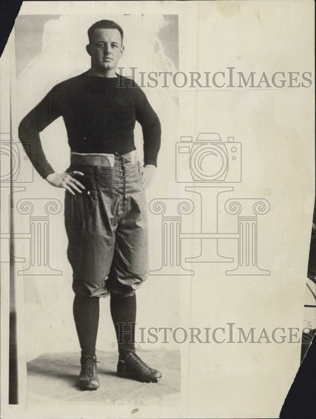 1933 Press Photo Timmy Woods All American Harvard Football - Historic Images