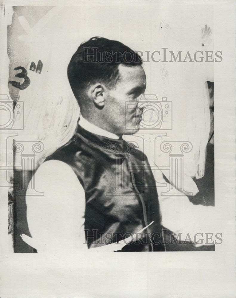 1935 Press Photo Lex Wilson, Amateur Steeplechase Jockey Rider - Historic Images