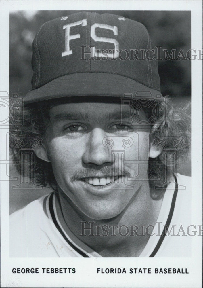 1980 Press Photo Florida State baseball. George Tebbetts - Historic Images