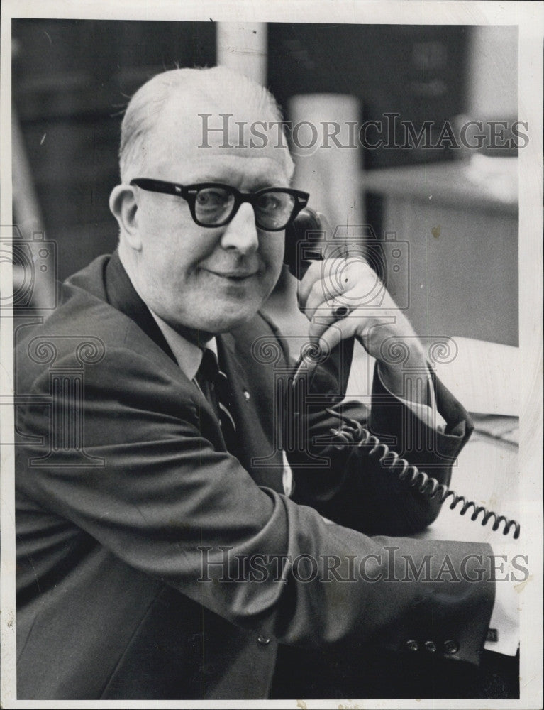 1965 Press Photo Rep John J Toomey Fired From House Ways & Means Committee - Historic Images
