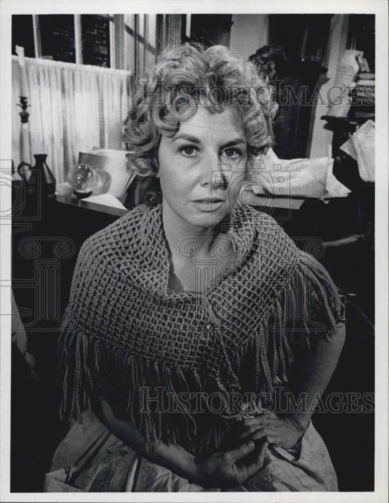 1973 Press Photo Michael Learned Film Television Actress - Historic Images