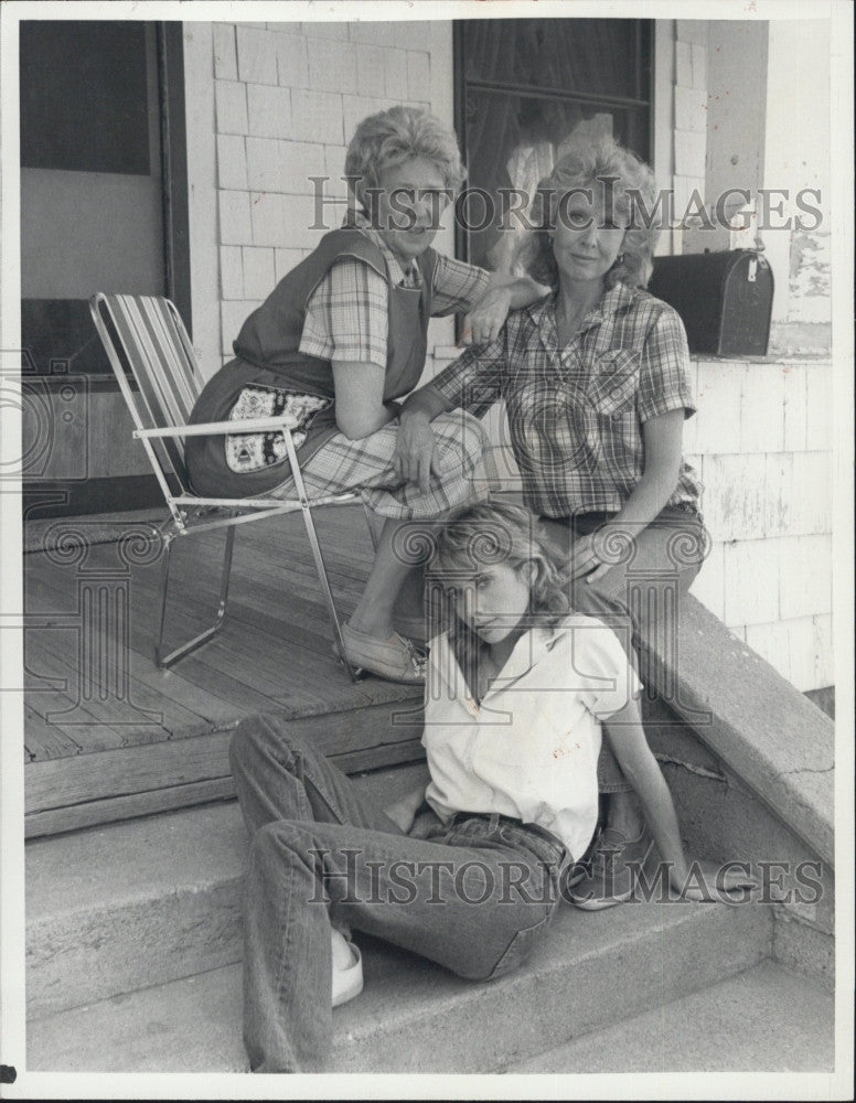 Press Photo Actress Michael Learned - Historic Images