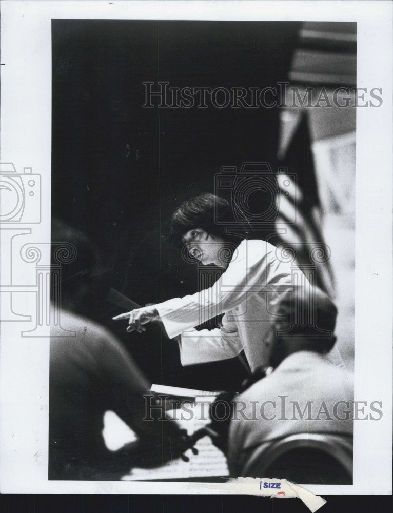 1979 Press Photo Acclaimed conductor, Seiji Ozawa - Historic Images