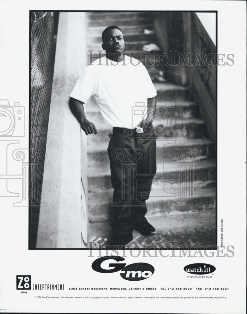 "1994 Press Photo Greg ""G-Mo"" Moore of ""Earth, Wind, and Fire"" - Historic Images"