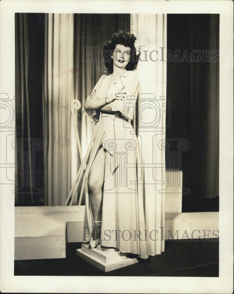 1946 Press Photo Opera singer Eleanor Gayle - Historic Images