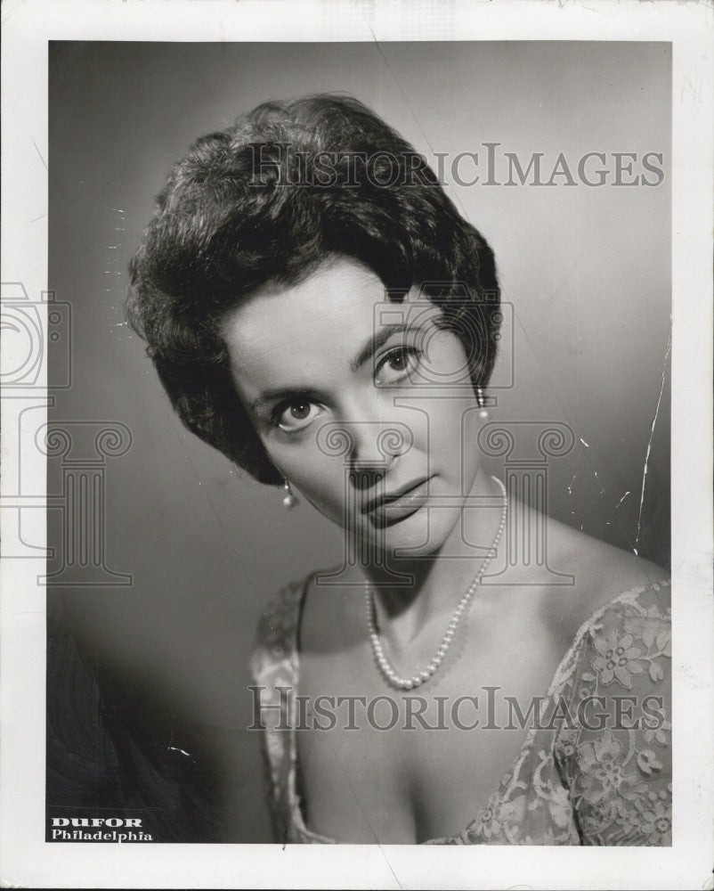1961 Press Photo Marilyn Gray for a acting role - Historic Images
