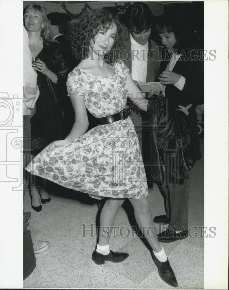 "1988 Press Photo Jennifer Grey ""Big"" Film Television Actor - Historic Images"