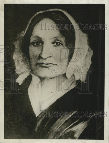 1928 Press Photo Mary Lyon Founder Of Mt Holy College - Historic Images