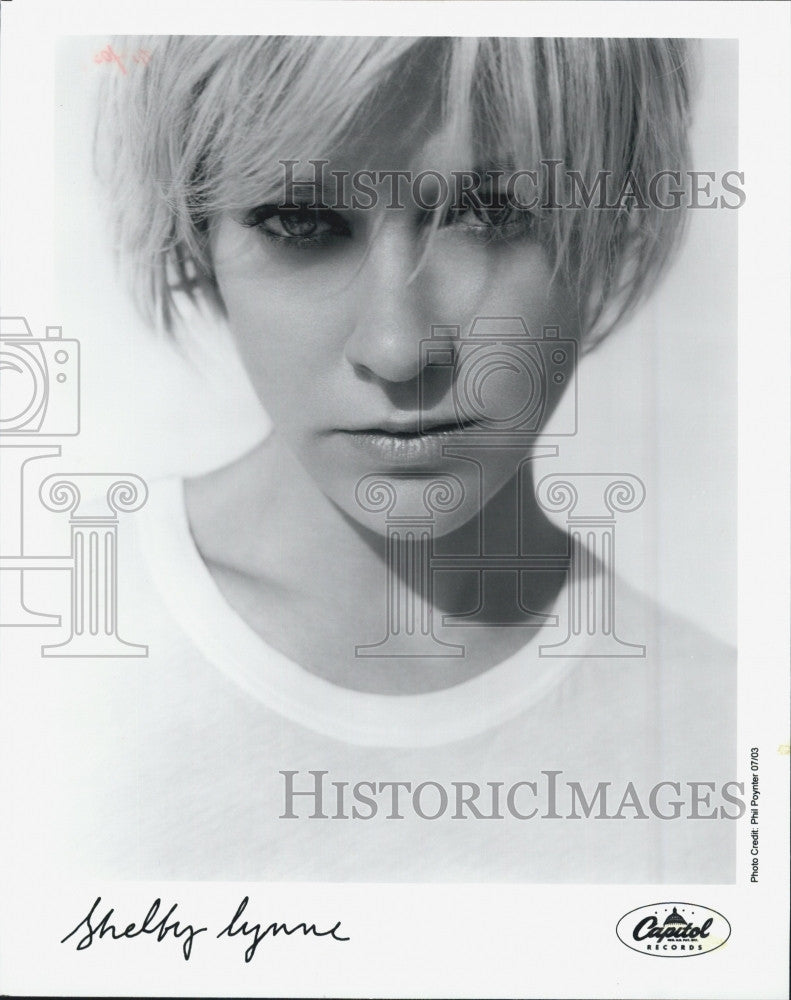 2003 Press Photo Singer & Performer Shelby Lynne - Historic Images